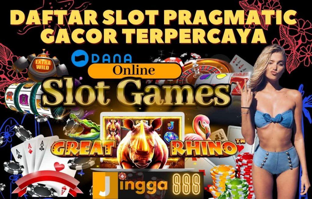game slot online pragmatic play mudah menang terpercaya